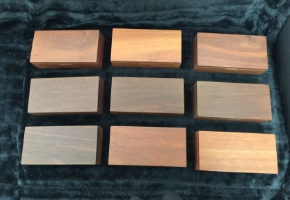 Australian Jarrah General Purpose Boxes -