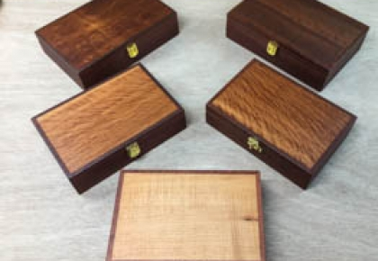 Classic Gentleman's  Boxes with Leather Lining