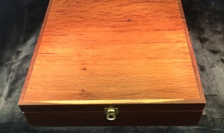 Custom Made Jewellery Box with Tray SOLD