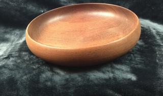 Classic Jarrah Salad Bowl - Wide Bottomed SOLD
