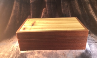 Jewellery Box with no Tray (Green)