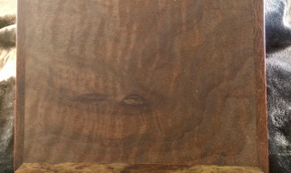 Example of Figured Jarrah Box Lid