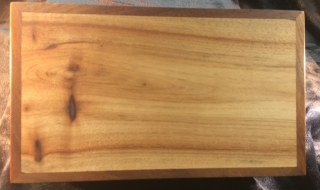 Example of Camphor Laurel Box Lid