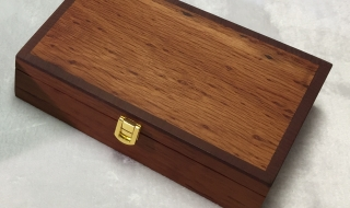 Sheoak Keepsake Box with catch - (Black) 250x150x65 SOLD