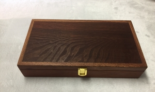 Long Jarrah Box Woody Pear Lid 300x150x65