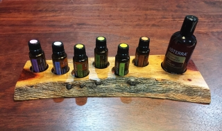 Raw Edge 6 Essential Oil Stand