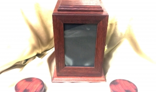 Custom Made Pet Cremation Photo Box