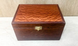 Jarrah Jewellery Box - Small with Removable Tray CSBT19006-L5241