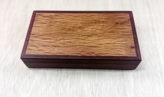 Sheoak/Woody Pear Trinket / Cufflink Box (Med)  (PTRB19007-L5394) SOLD
