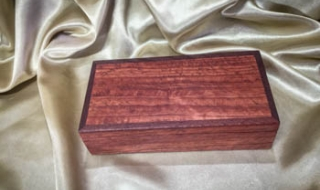Premium Jarrah Treasure Box (Small) - (PTBS19002-L8464) SOLD