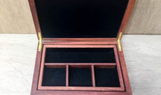 Review - Small Jewellery Box with Removable Tray CJBT19004-L5224 (Dec 2019)