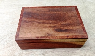 Premium Small Keepsake Box - Woody Pear (PKB19002-L5333 SOLD