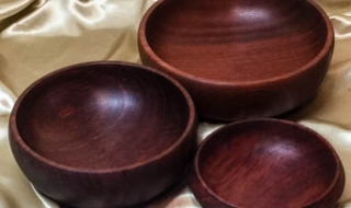 Special - Set of 3 Jarrah Entertaining Bowls (Special - SB19004-L6058)