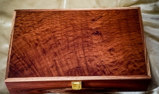 Limited Editiion Jarrah, Sheoak and Woody Pear Jewellery Box LEDB19005-L7309