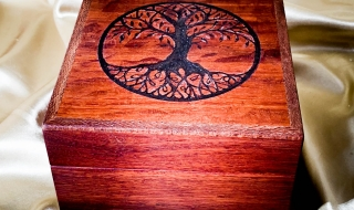 Jarrah/Sheoak Essential Oil Box - Tree Of Life 20 - EOB 19003-L7508