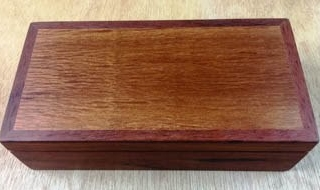 Jarrah and Sheoak Classic Treasure Box - DB20003-L5034