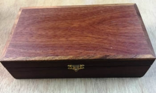 Jarrah and Black Wattle Treasure Box - CTB20005-L5045