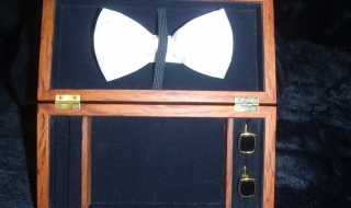Designer Gentleman's Accessory Box SOLD
