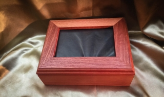 Classic Pet Cremation Photo Box Style 1