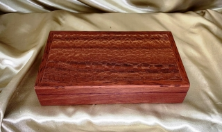 Classic Jarrah/Holly Banksia Trinket/Cufflink Box (Small) - CTRBL20013-L8568